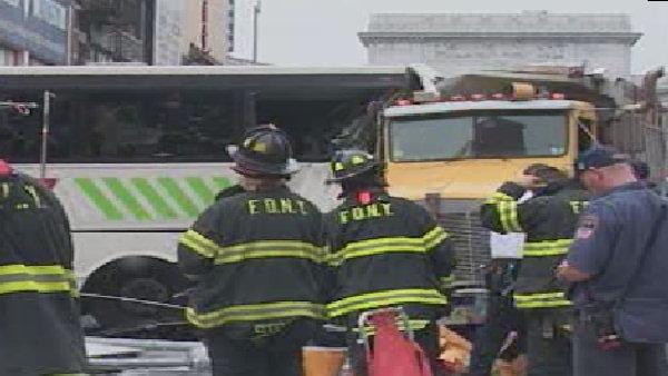 Truck Crash in Chinatown